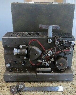 VINTAGE Tube Projector Model ??? for Parts With Wooden Case