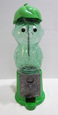 Little Sprout Figural Gumball Gum Machine Advertising Ad Mascot Green Giant