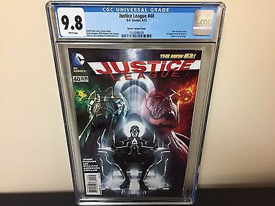 Justice League #40 CGC 9.8 White Pages Garner Variant 1st App of Grail HOT!