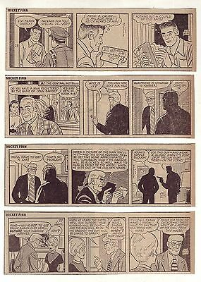 Mickey Finn by Morris Weiss - 26 daily comic strips - Complete September 1972