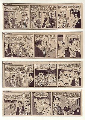 Mickey Finn by Morris Weiss - 26 daily comic strips - Complete October 1972