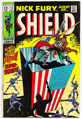 Nick Fury, Agent of Shield #13 - Marvel Comics (July 1969) Fine