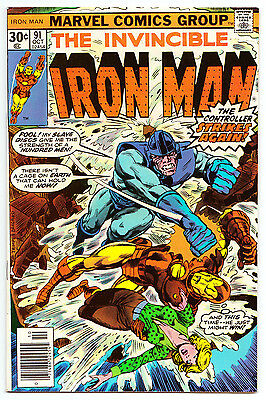 Iron Man #91 - Marvel Comics (Oct. 1976) F-VF