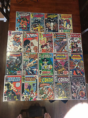 Marvel Bronze copper lot of 19 VF Amazing Spider-Man Uncanny X-Men Power Man