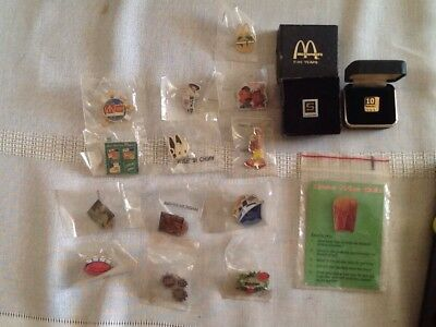 20 Older McDonald's Pins   McBoo, Christmas, 5 and 10 yr