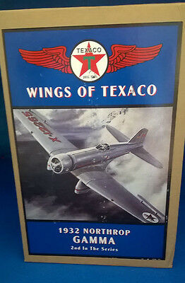 New Wings Of Texaco Airplane Model 1932 Northrop Gamma 2Nd Series New In Box