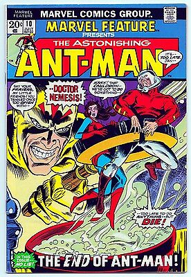 Marvel Feature #10 (Ant-Man) - Marvel Comics (July 1973) Fine+