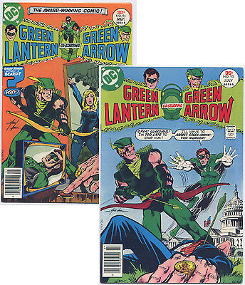 GREEN LANTERN #94 & #95 (1977) with Green Arrow  DC, 2 Issue Lot,  See Scans