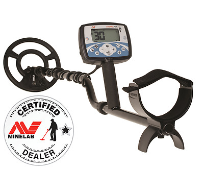 Genuine Minelab X-Terra 705 Coin/Relic Metal Detector with Free Cap & Batteries