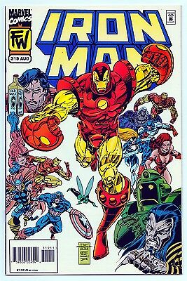 Iron Man #319 - Marvel Comics (Aug. 1995) NM