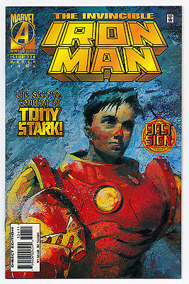 Iron Man #326 - Marvel Comics (March 1996) NM