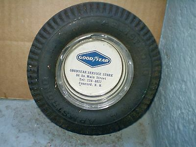 Vintage Goodyear Armstrong Tire Ash Tray Original 'great Display  Concord Nh