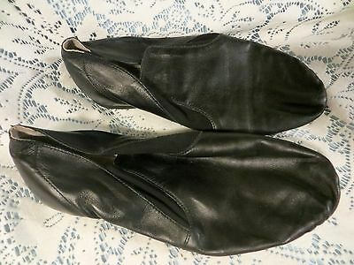 Black   Jazz  Dance  Shoes  Size  7 & 1/2   L  Dance Now