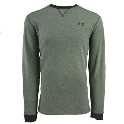 Under Armour Men's UA Amplify Thermal Top Pine Green Heather/Black 2XL