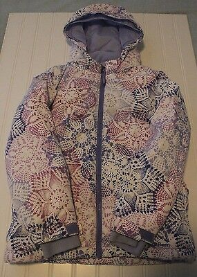 Girls L.L. Bean Snow Winter Jacket Size: L6X-7 Winter LL Snowscape