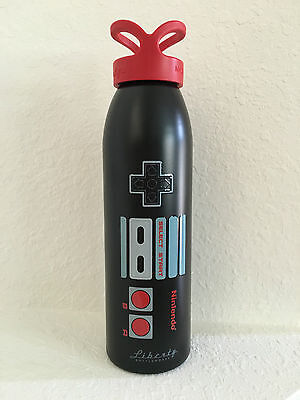 Nintendo World Nes Controller Liberty Metal Bottle Nyc