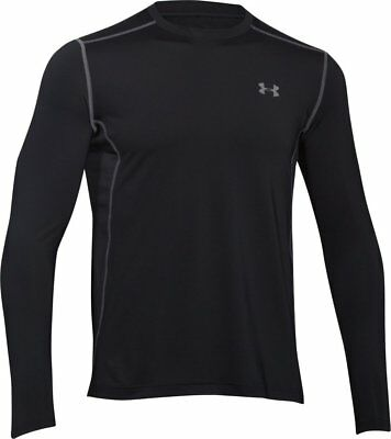Under Armour Men's Raid L/S Fitted Tee Black/Steel L