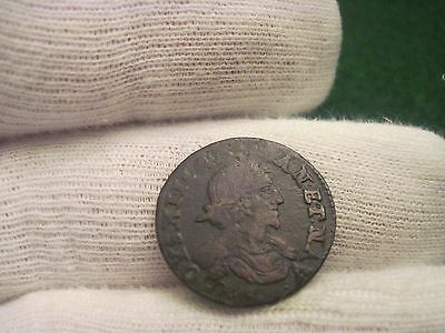 1632 Double Tournois French Coin Colonial Canada's Coinage