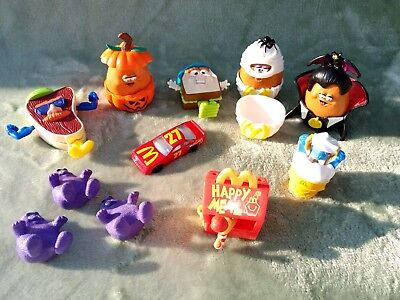 18 Pce Lot 1990S Mcdonalds Happy Meal Toys Transformers Mcnugget Halloween +More