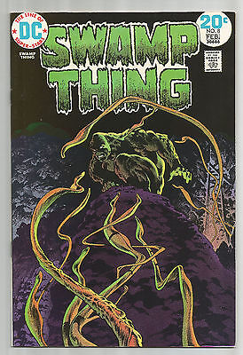 DC Swamp Thing #8 VF or better