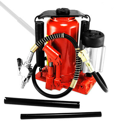 Tooluxe 20 Ton Air And Manual Hydraulic Bottle Jack