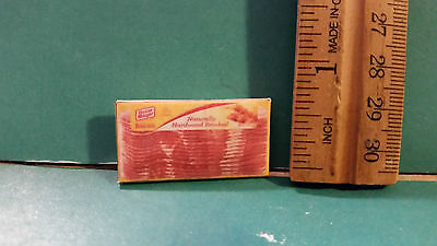 Barbie Doll 1:6  Kitchen Food Miniature Package of Bacon ff