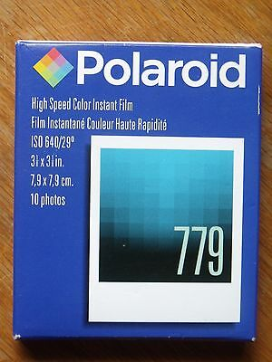 Sealed Box Polaroid 779 High Speed Color Instant Film 10 Photos Expired 08/2008