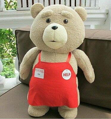 50cm XXL Teddy Bear Movie Plush Toy TED 2 Bear Fabric Animal Gift to Friend Hot