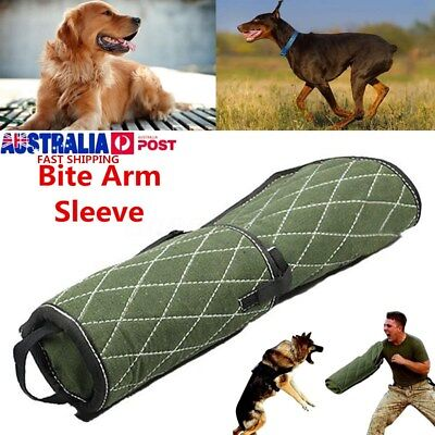 Dog Training Bite Tug Arm Sleeve for Young Working Police Dogs German Shepherd