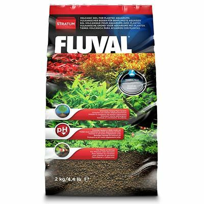 Fluval Plant and Shrimp Stratum Substrate 2kg Base for Aquariums