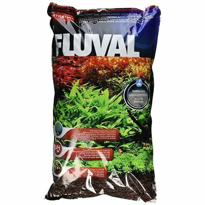 Fluval Plant and Shrimp Stratum Substrate 8kg Base for Aquariums