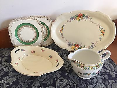 Vintage China Asst Meakin Maddock Staffordshire. All in Good Cond.