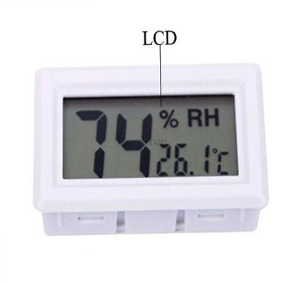AU Mini Digital Thermometer Indoor Room Temperature Humidity LCD Hygrometer