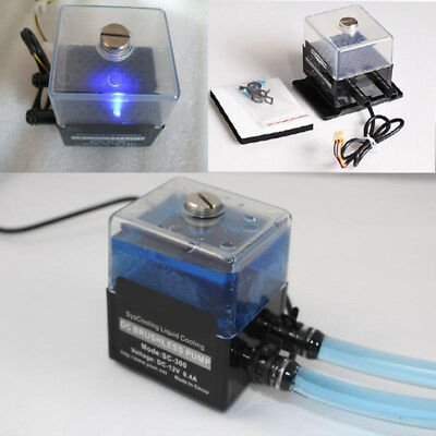 SC-300T DC 12V ultra-quiet Water Pump Set For PC CPU Liquid Cooling System NEW