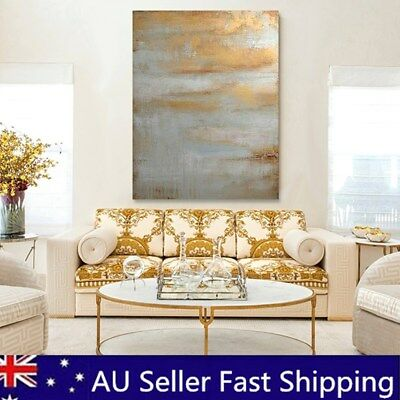 Framed Hand-painted Abstract Canvas Print Art Painting Pictures Home Wall Decor