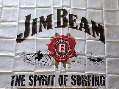 Jim Beam Bourbon Flag 150x85cm Collectible ** Must Have **