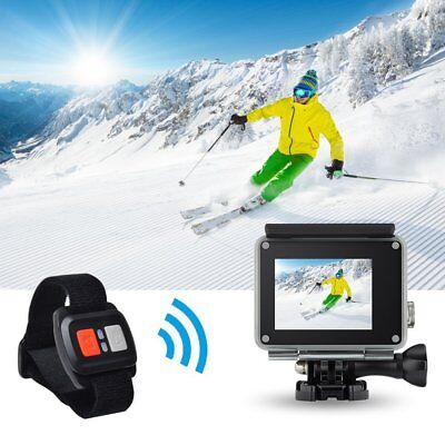 Vision 3 4K Sports Action Camera Ultra HD Waterproof WiFi 16MP DV BLACK+Remote