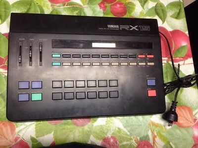 Yamaha RX15 Digital Rhythm Programmer Drum Machine
