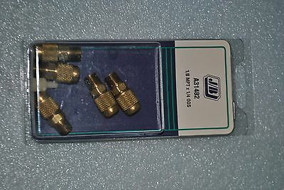 """JB Just Better A31482 ⅛"""" MPT x ¼"""" ODS Threaded Access Valves Five Pack"""