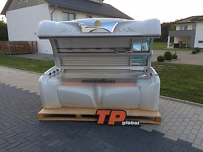 SOLARIUM MEGASUN 5600 SUPER POWER special white sunbed