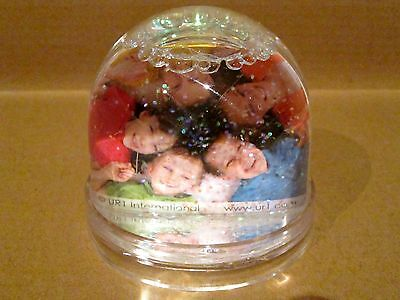 Double Sided Picture Snowglobe CLEAR