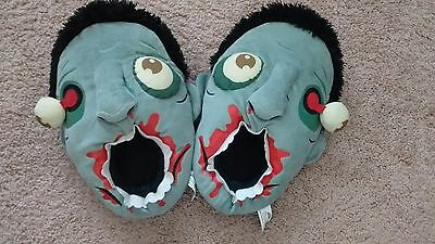 Think Geek - Bloody Zombie Slippers - Great Condition!