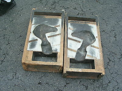 Horse head fence post mold architectural salvage app. 27 1/2 X 14 1/2