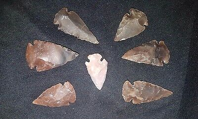Lot of Ancient Neolithic Flints Arrow head 6000-4000 BC