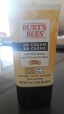 Burt's bees bb cream light clair