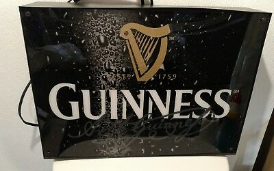 Guinness Beer Light Up Sign Bar Pub Irish Tavern Ireland Man Cave