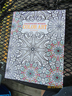 Adult Coloring Book:Kaleidoscope Wonders Color Art, By Leisure Arts