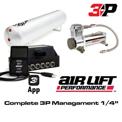 """AirLift Performance 27682 - 3P Pressure Controller 1/4"""" Complete Managment Kit"""