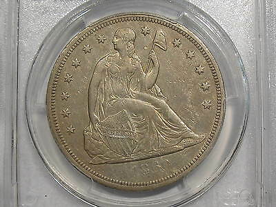 1860-O New Orleans Seated Liberty Dollar PCGS XF45 Extra Fine