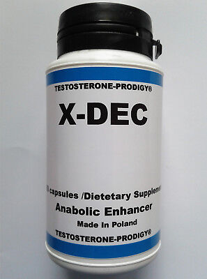 DECADROX -60 Caps STRONGEST AVAILABLE IN BODYBUILDING ANABOLIC MUSCLE BUILDING